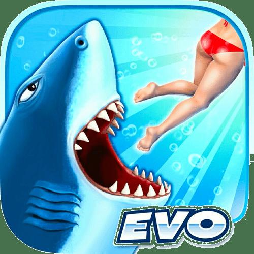 دانلود Hungry Shark Evolution 8.2.0 – بازی جذاب تکامل کوسه گرسنه اندروید + مود