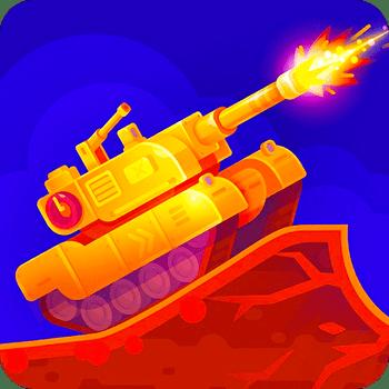 دانلود Tank Stars 1.4.7 - بازی جذاب و مهیج نبرد تانک ها اندروید + مود