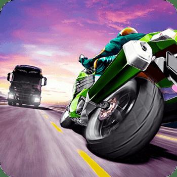 دانلود Traffic Rider 1.61 - بازی موتور سواری سبقت در ترافیک اندروید + مود