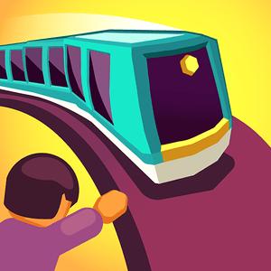 دانلود Train Taxi 1.4.11 - بازی تفننی تاکسی قطاری اندروید + مود