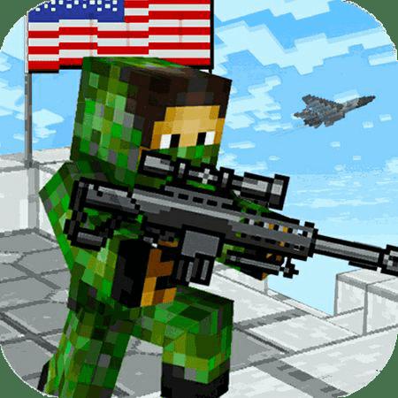 دانلود American Block Sniper Survival v1.61 - بازی بقاء تک تیرانداز امریکایی اندروید + مود