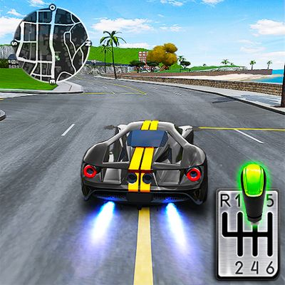 دانلود Drive for Speed: Simulator 1.18.7 – بازی ماشین سواری رانندگی در سرعت اندروید + مود