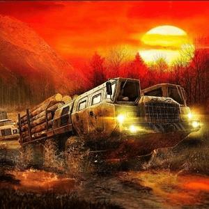 """دانلود MudRunner 1.30.8866 – بازی شبیه ساز """"رانندگان گل و لای"""" اندروید + مود"""