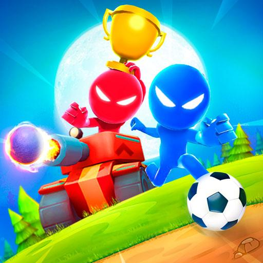 دانلود Stickman Party 1 2 3 4 Player 1.9.6.2 – بازی مهمانی استیکمن اندروید + مود